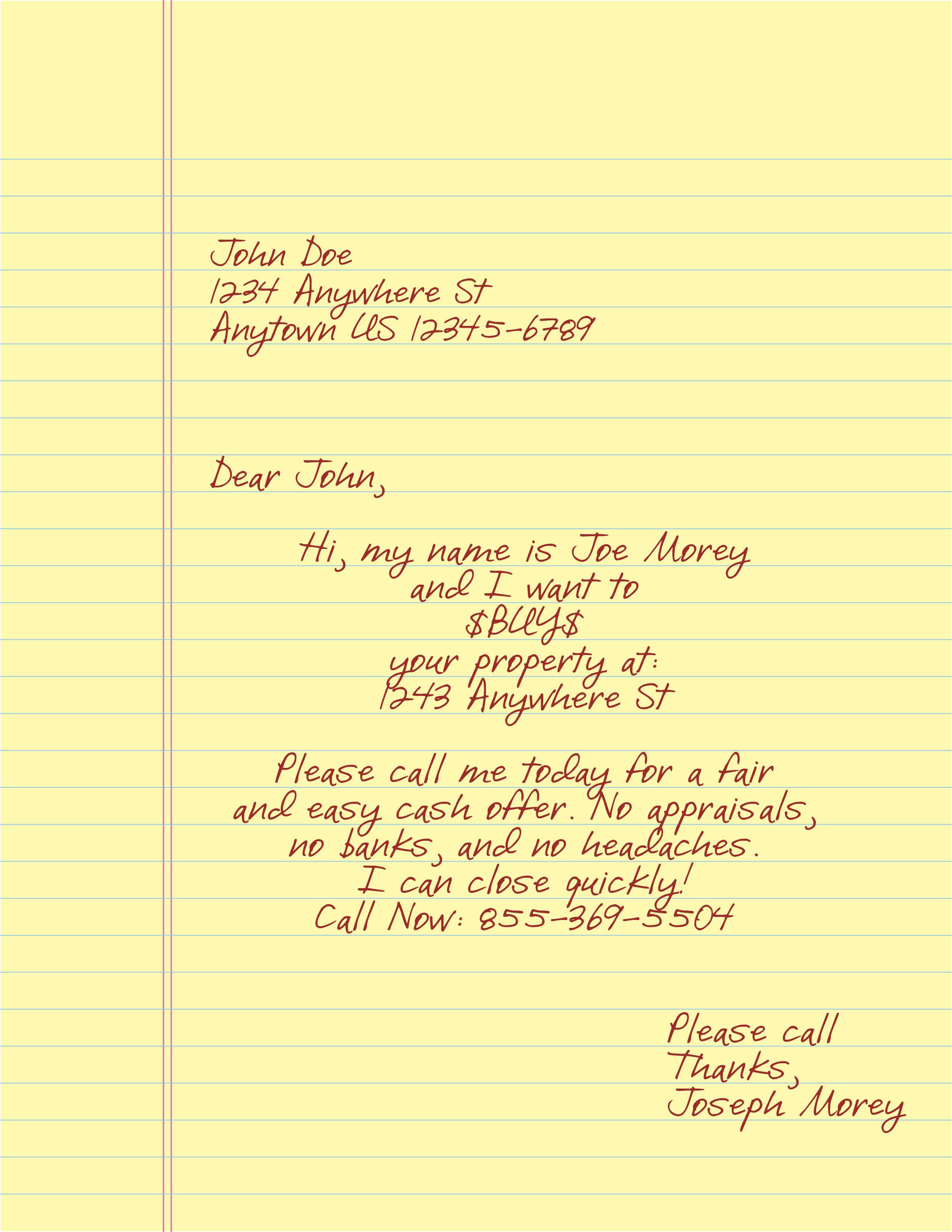Window Letter #2