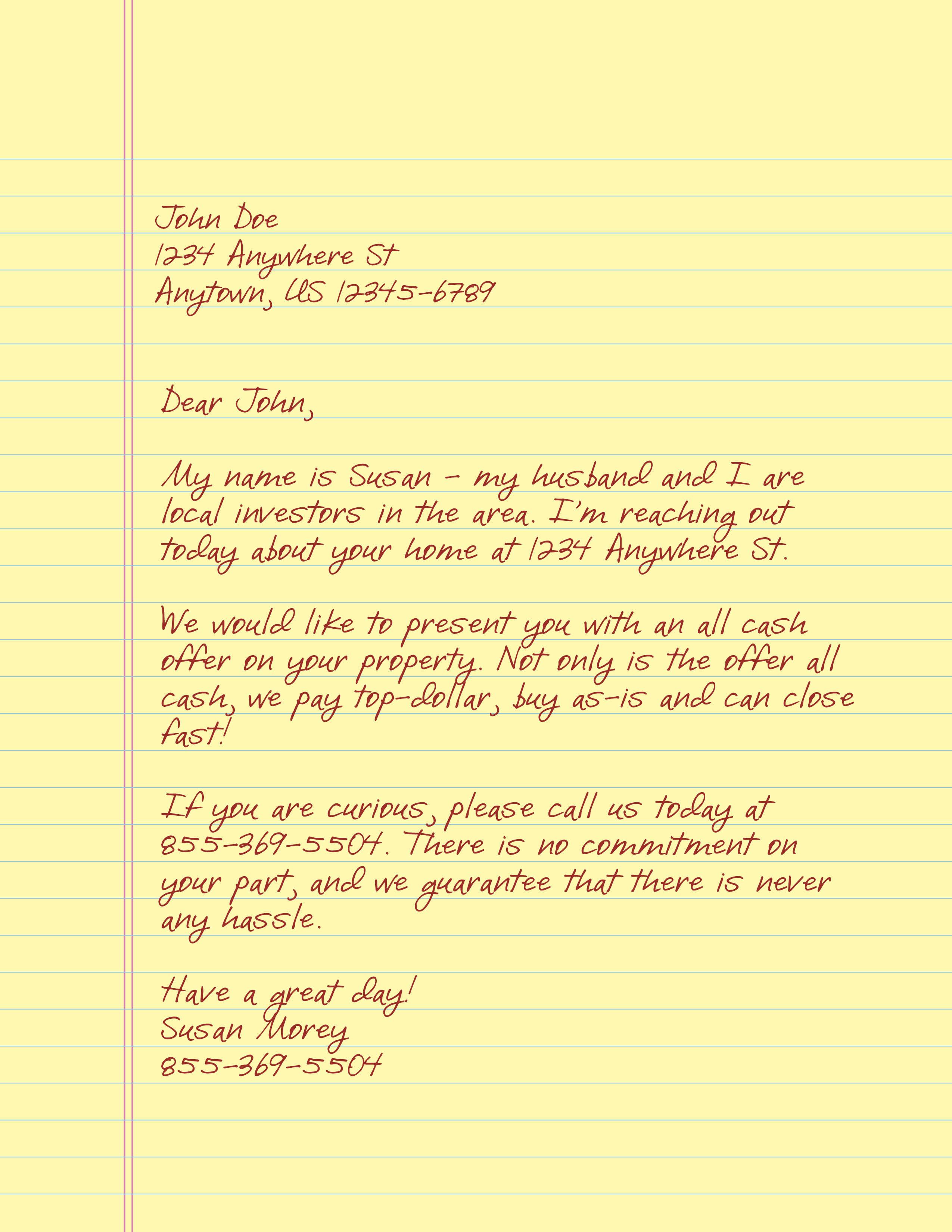 Window Letter #3