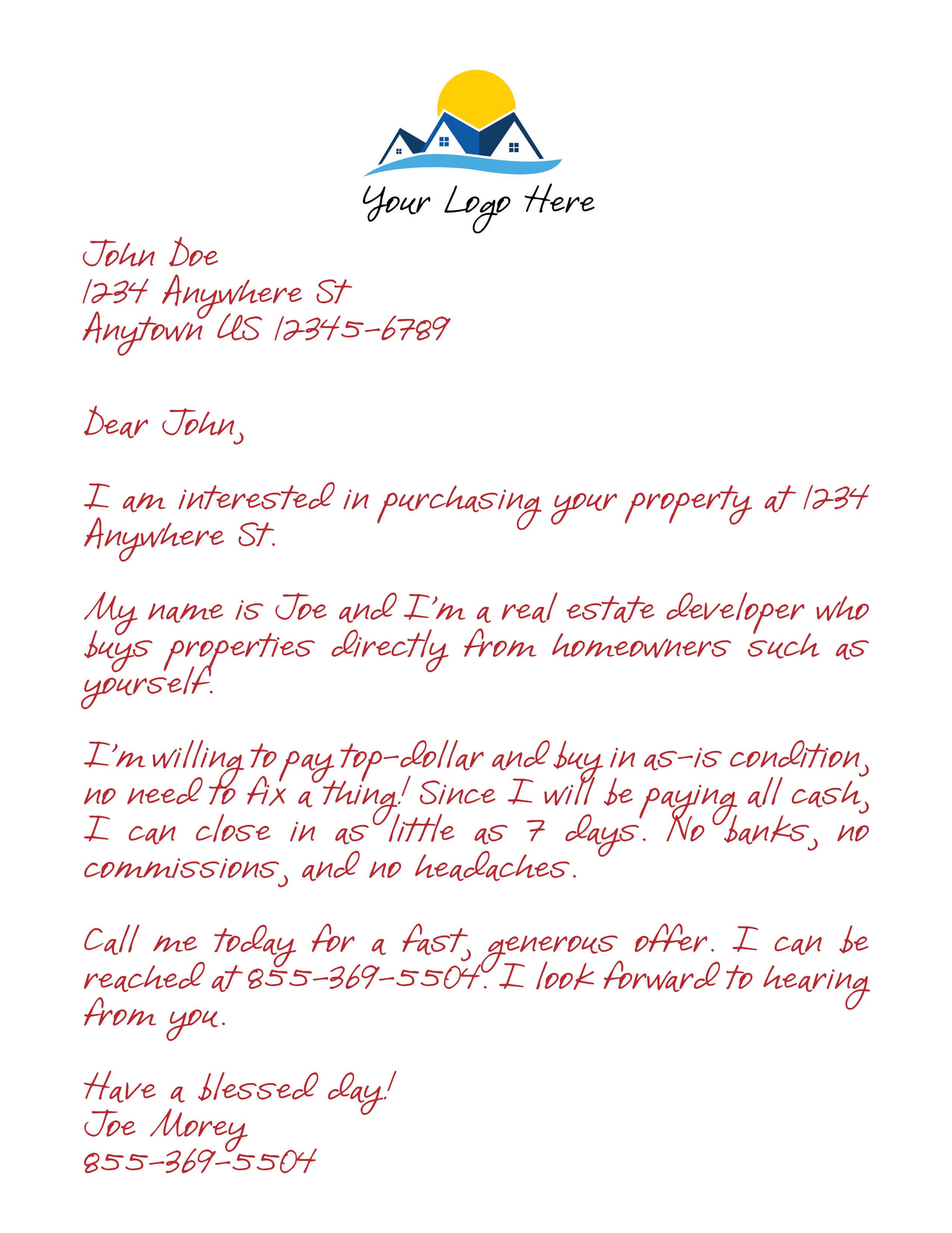 pro window letter 3